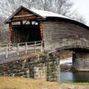 Humpback Covered Bridge, VA