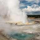 Clepsydra Geyser - Yellowstone NP - WY