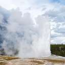 Old Faithful - Yellowstone NP - WY