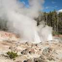 Steamboat Geyser - Yellowstone NP - WY