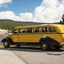 Yellow Bus - Yellowstone NP - WY