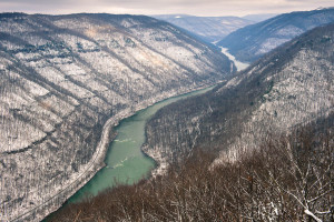 Grandview - New River Gorge National River, WV