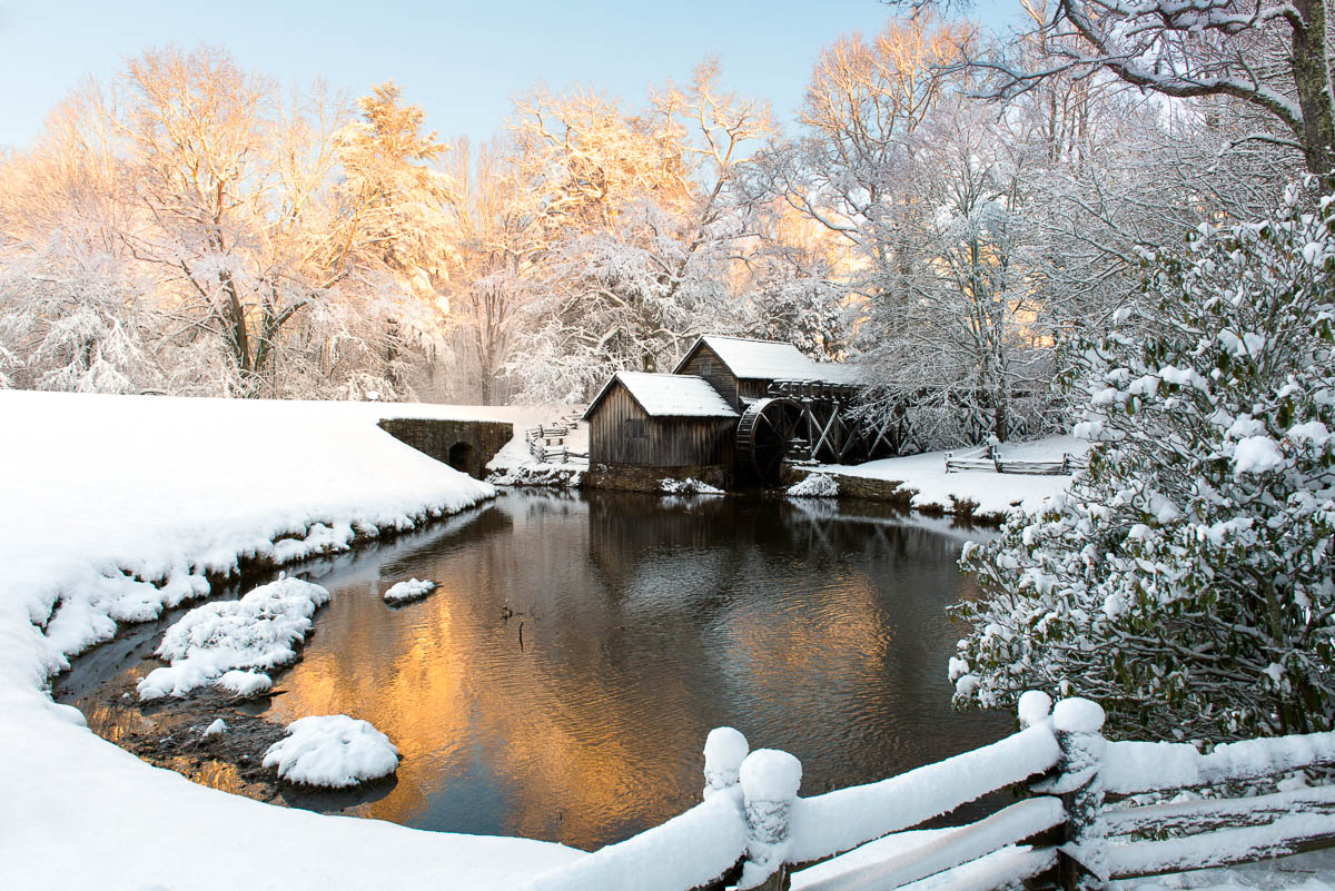 mabry mill in snow wp3 photography. Black Bedroom Furniture Sets. Home Design Ideas