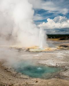 Clepsydra Geyser - Yellowstone NP
