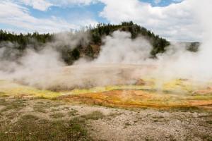 Midway Geyser Basin - Yellowstone NP