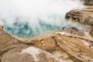 Excelsior Geyser Crater - Yellowstone NP