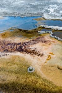 Main Terraces - Mammoth Hot Springs - Yellowstone NP