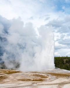 Old Faithful - Yellowstone NP