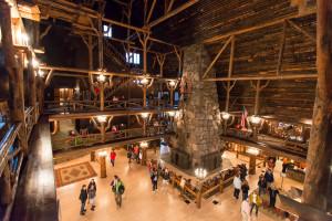 Old Faithful Inn - Yellowstone NP