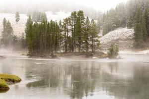 Nez Perce Ford - Yellowstone River - Yellowstone NP