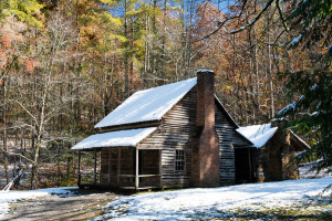 Whitehead Cabin - Cades Cove - Great Smoky Mountains NP
