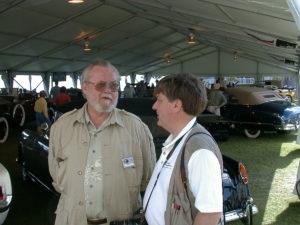 Frank with David E. Davis