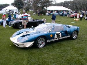 1966 Ford GT-40 - Amelia 2000