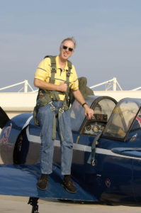 Bill in a Yak-52