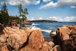 Thunder Hole at Acadia NP, Maine - 2009