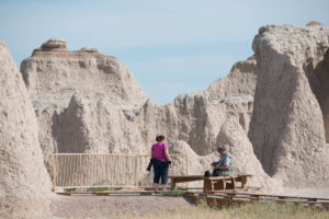Frank and Barb at Badlands NP - 2013